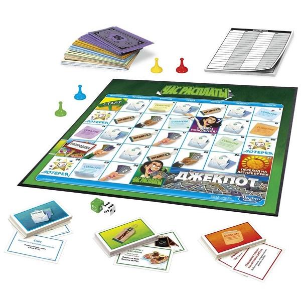 Hasbro Other Games E0751 Настольная игра Час расплаты
