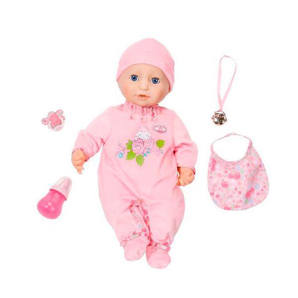 Zapf Creation Baby Annabell 794-821 Бэби Аннабель Кукла многофункциональная, 43 см кукла yako m6579 6