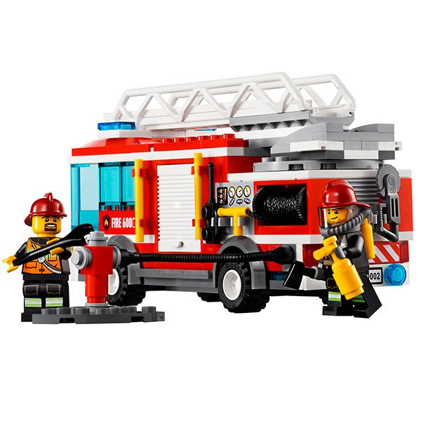 Lego City 60002 Конструктор Лего Город Пожарная машина
