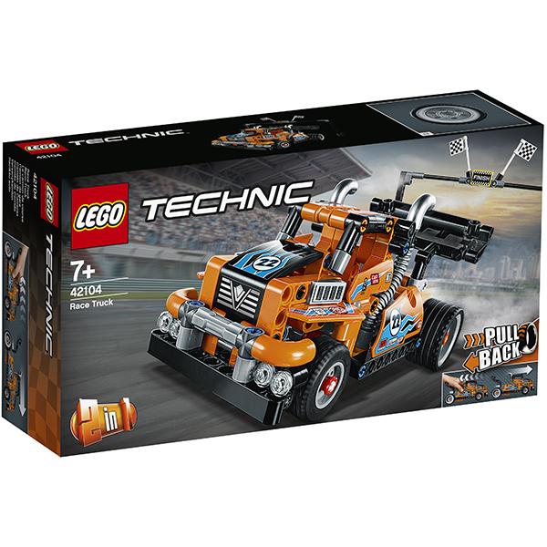 LEGO Technic 42104 Конструктор ЛЕГО Техник Гоночный грузовик