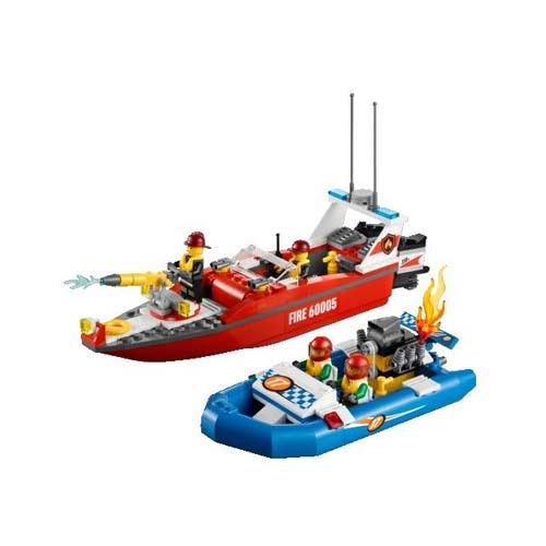 Lego City 60005 Конструктор Лего Город Пожарный катер