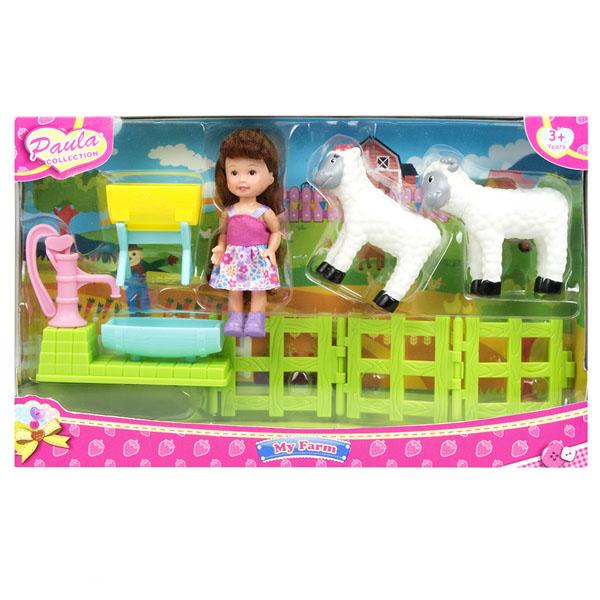 цена на Paula MC23602b Игровой набор В деревне с овечками
