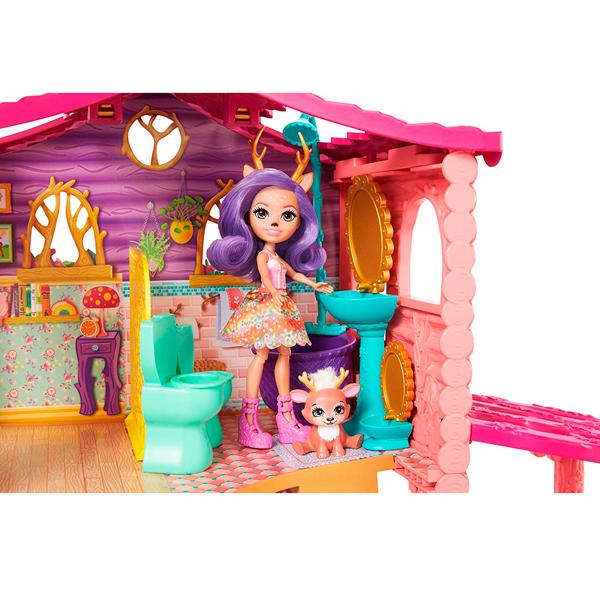 Mattel Enchantimals FRH50 Домик Данессы Оленни