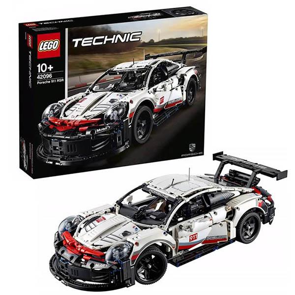 Фото - LEGO Technic 42096 Конструктор ЛЕГО Техник GT Race Car lego technic 42076 конструктор лего техник корабль на воздушной подушке