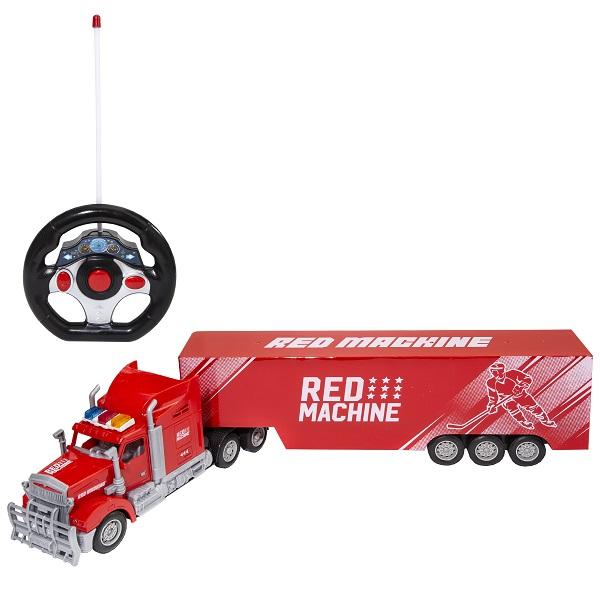 RED MACHINE YK-2051RM Тягач с прицепом Р/У (свет)