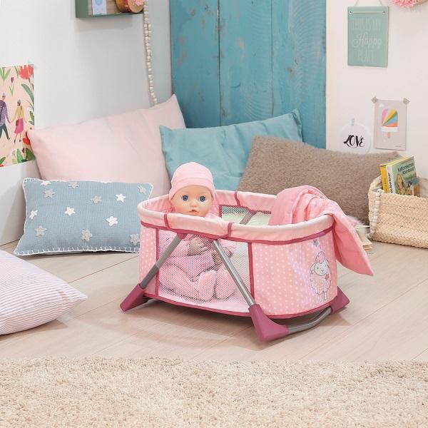 Zapf Creation Baby Annabell 794-982 Бэби Аннабель Мягкая кроватка