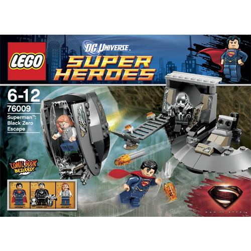 Конструктор Lego Super Heroes 76009 Лего Супер Герои Супермен: Побег с корабля Black Zero