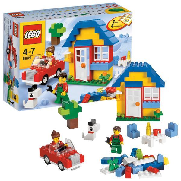Конструктор Lego Creator 5899 Конструктор Строим здания