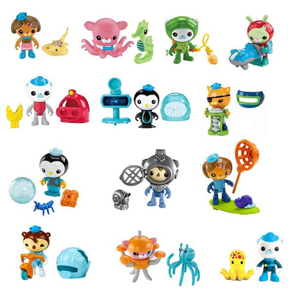 Mattel Octonauts V1381_9 Октонавты Фигурки персонажей с аксессуарами (в ассортименте)