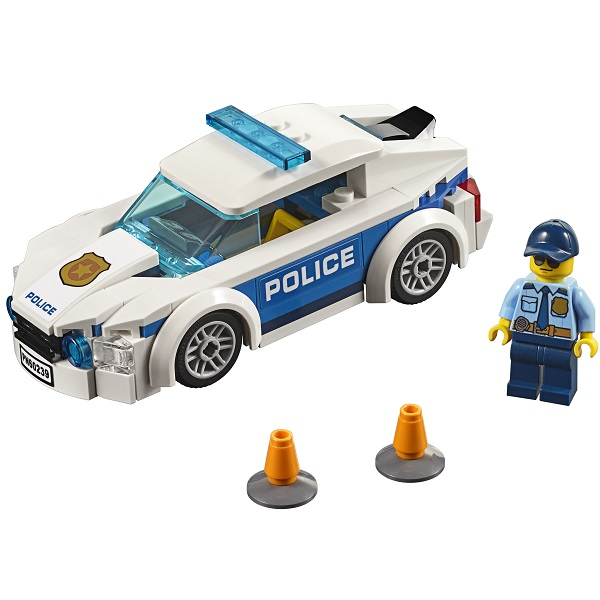 LEGO City 60239 Конструктор ЛЕГО Город Автомобиль полицейского патруля