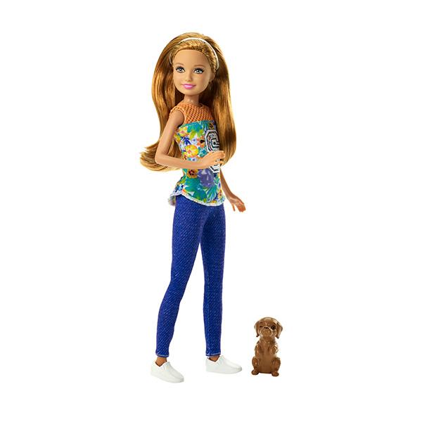 Mattel Barbie DMB28 Барби Сестра Barbie с питомцем mattel кукла челси barbie