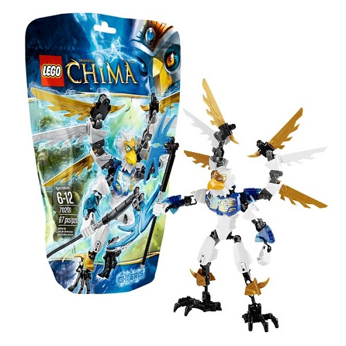 Конструктор Lego Legends of Chima LOC Constraction 70201 Легенды Чимы Чи Эрис
