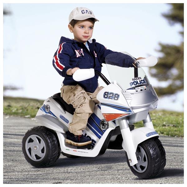Детский электромобиль Peg-Perego ED0910 Raider Police