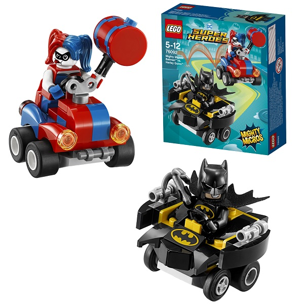 Lego Super Heroes Mighty Micros 76092 Конструктор Лего Супер Герои Бэтмен против Харли Квин lego lego super heroes mighty micros звёздный лорд против небулы