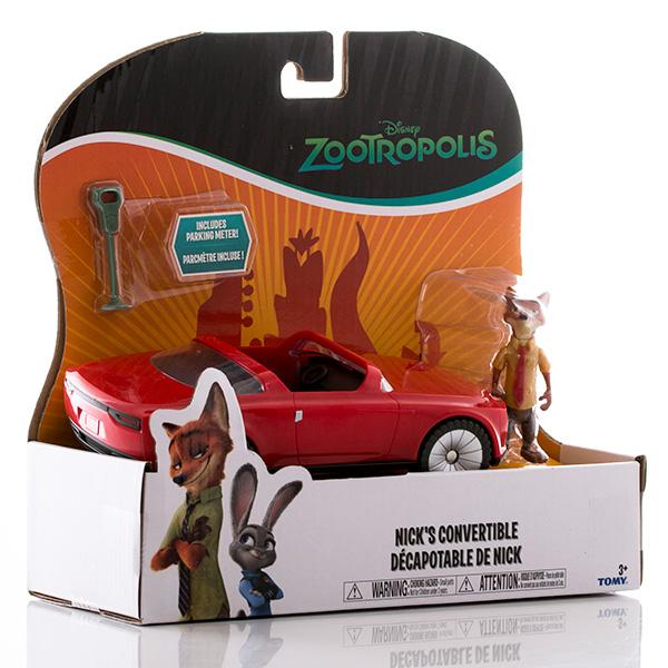 Zootropolis L70022 Зверополис Кабриолет Ника