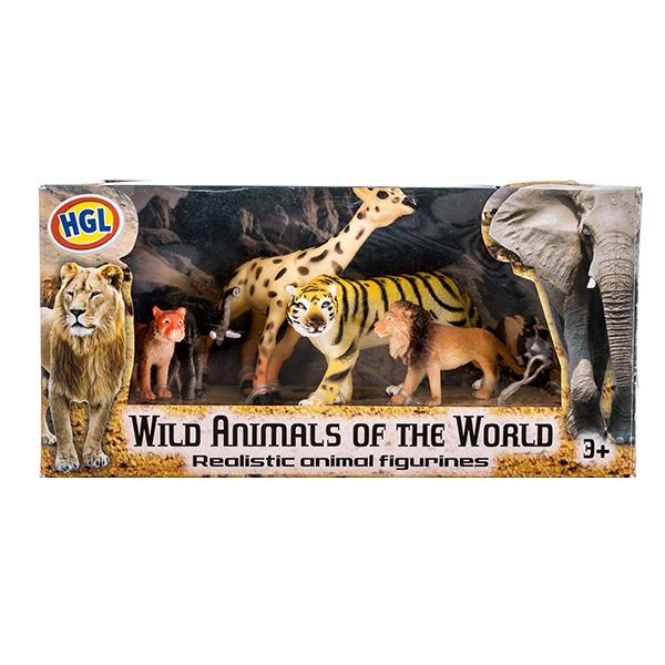 HGL SV10519 Игровой набор диких зверей 5-15 см (в ассортименте) цены онлайн