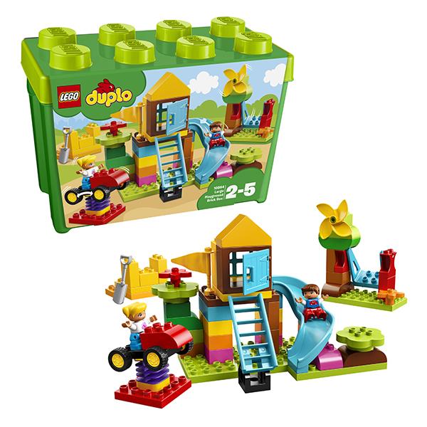 LEGO DUPLO 10864 Конструктор ЛЕГО ДУПЛО Большая игровая площадка конструктор lego duplo my first 10864 большая игровая площадка