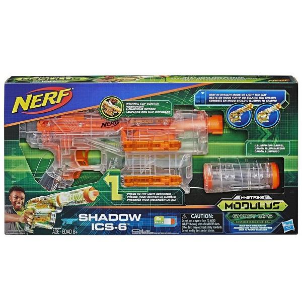 Hasbro Nerf E2655 Нерф Бластер Модулус Шэдоу