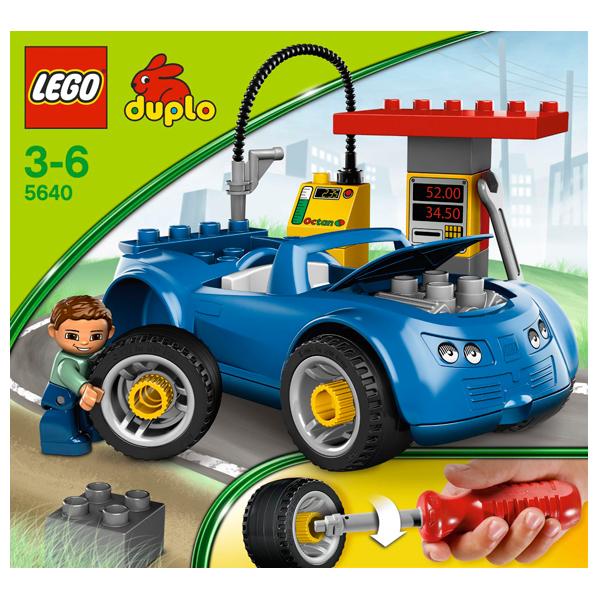 Lego Duplo 5640 Конструктор Заправочная станция