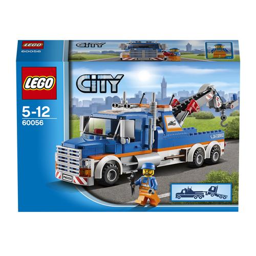 LEGO City 60056 Конструктор ЛЕГО Город Буксировщик