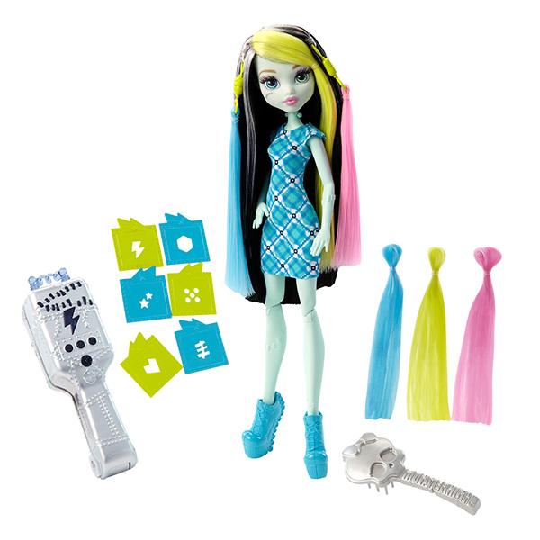 """Mattel Monster High FDT57 Игровой набор """"Стильная прическа Фрэнки"""""""