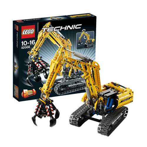 Lego Technic 42006_1 Конструктор Лего Техник Экскаватор