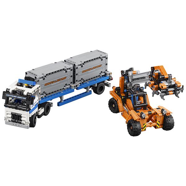 LEGO Technic 42062 Конструктор ЛЕГО Техник Контейнерный терминал