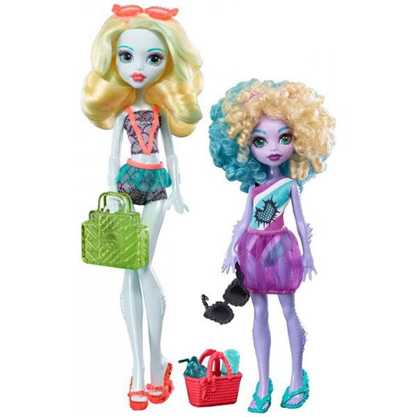 Mattel Monster High FCV82 Набор кукол из серии Семья Монстриков игровые наборы mattel форсаж игровой набор