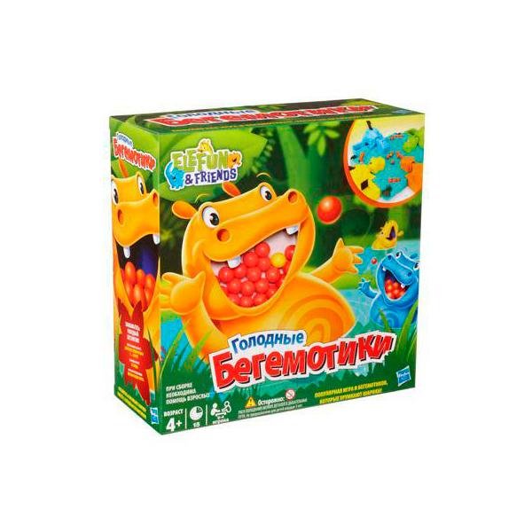Hasbro Other Games 98936 Игра Голодные бегемотики