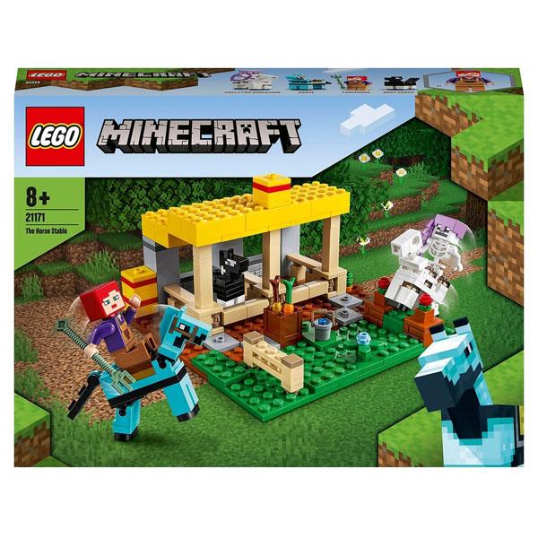 LEGO Minecraft 21171 Конструктор ЛЕГО Майнкрафт Конюшня