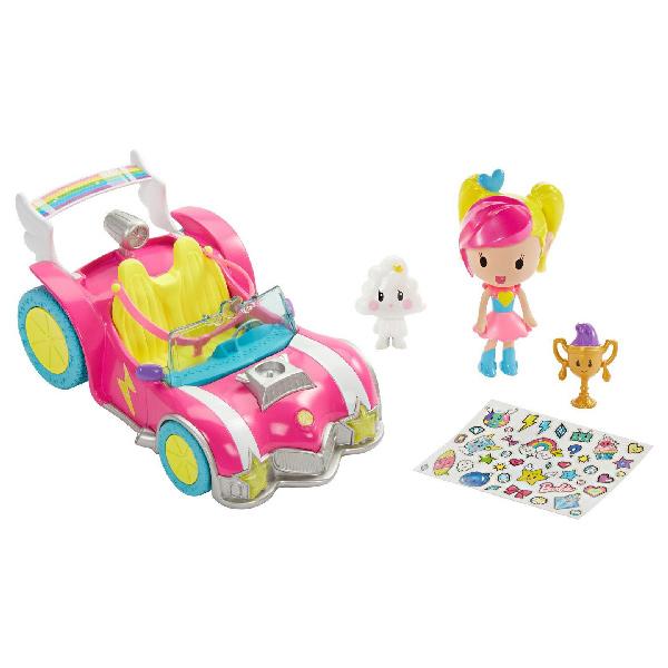 """Mattel Barbie DTW18 Барби Автомобиль из серии """"Barbie и виртуальный мир"""""""