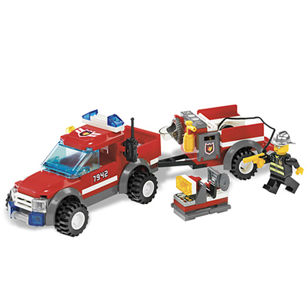 Lego City 7942 Конструктор Лего Город Спасательный пожарный внедорожник