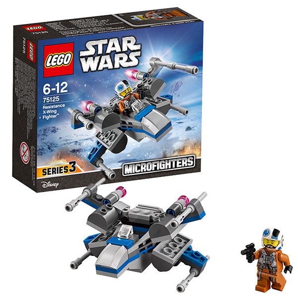 lego lego star wars 75150 лего звездные войны усовершенствованный истребитель сид дарта вейдера Lego Star Wars 75125 Лего Звездные Войны Истребитель Повстанцев
