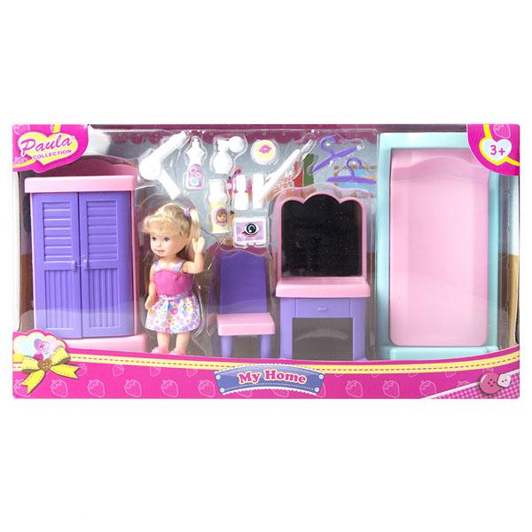 Paula MC23110a Игровой набор Мой дом спальня