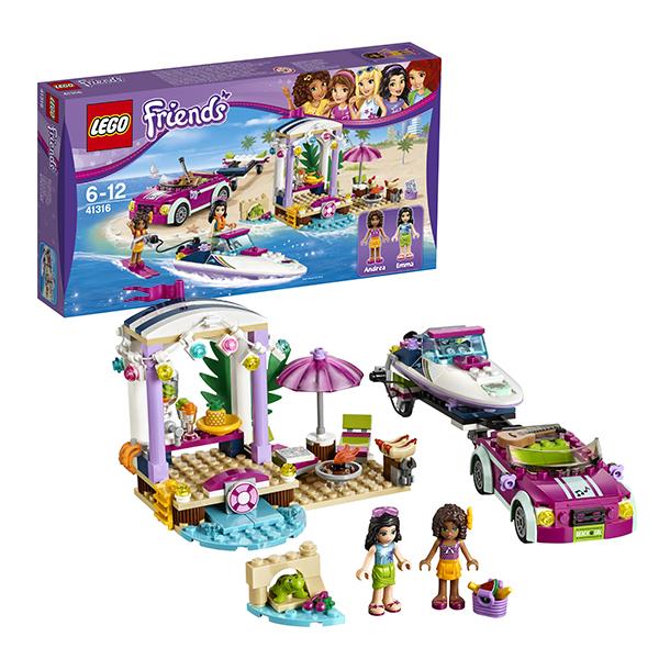 Lego Friends 41316 Конструктор Лего Подружки Скоростной катер Андреа