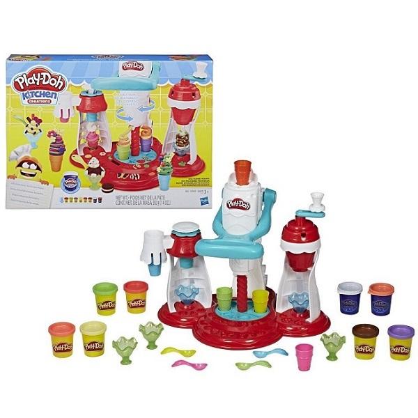 цены Hasbro Play-Doh E1935 Игровой набор Мир Мороженного