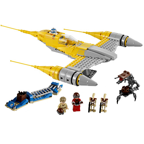 Lego Star Wars 7877 Конструктор Лего Звездные войны Звёздный истребитель Набу