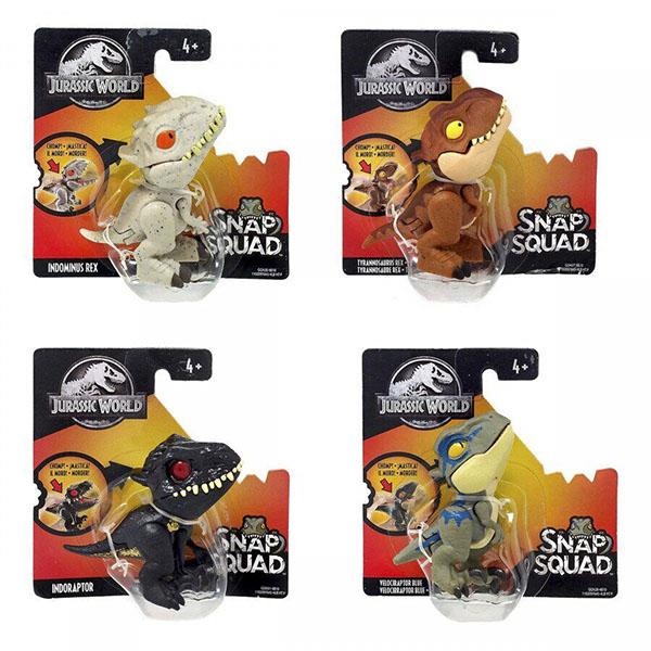 Mattel Jurassic World GGN26 Цепляющиеся мини-динозаврики (в ассортименте) игрушка mattel звездные войны в ассортименте