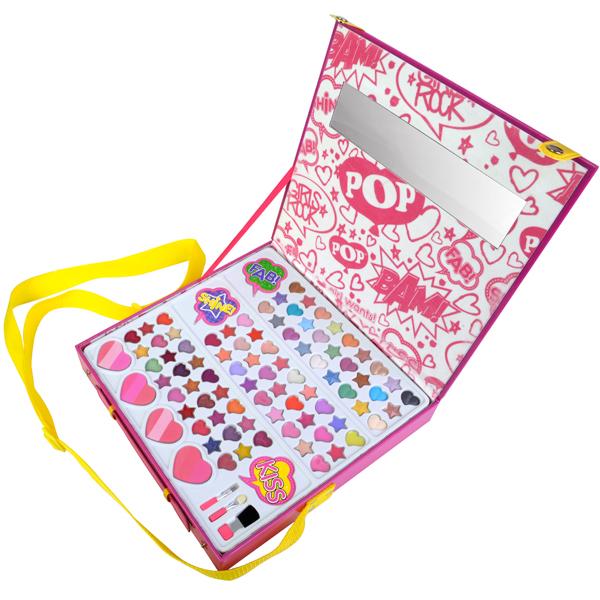 Markwins 3704551 POP Большой Игровой набор детской декоративной косметики для лица markwins набор детской косметики pop girls
