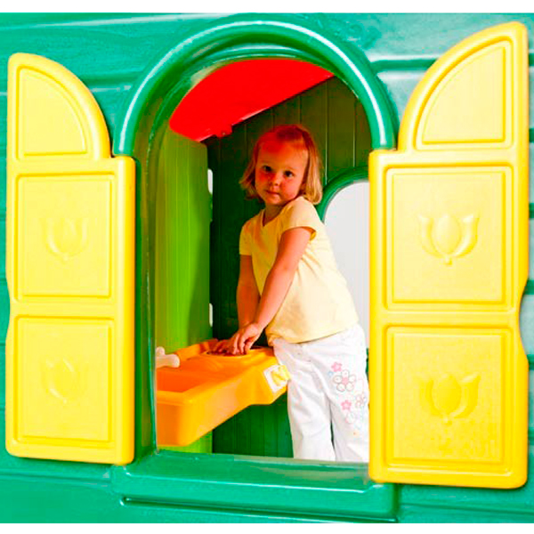 Little Tikes 440S Литл Тайкс Домик Дачный, зеленый