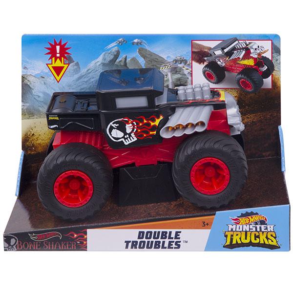 Mattel Hot Wheels GCG07 Хот Вилс Монстр трак Трансформеры BONE SHAKER