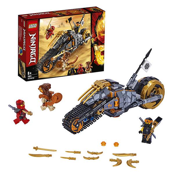 LEGO Ninjago 70672 Конструктор ЛЕГО Ниндзяго Раллийный мотоцикл Коула стоимость