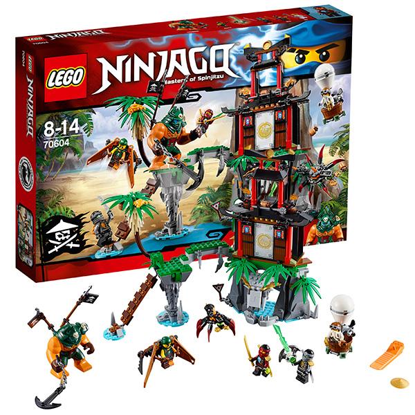 Lego Ninjago 70604 Лего Ниндзяго Остров тигриных вдов коутс а клуб юных вдов