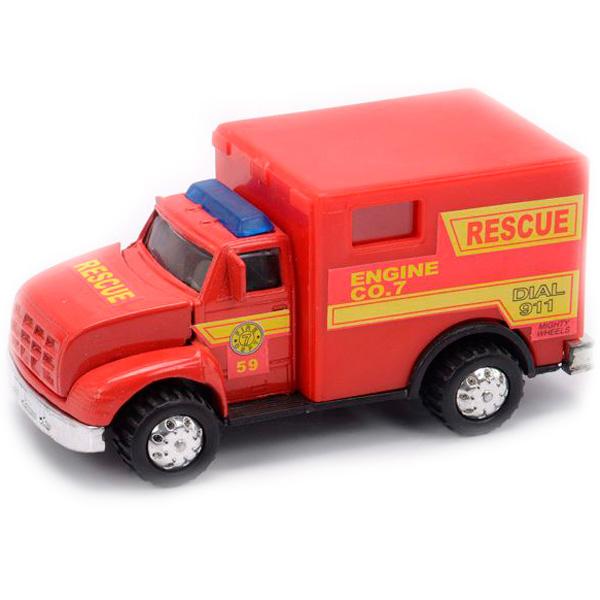 Фото - Soma 78178 Пожарная машина 12 см soma 78058 пожарная машина с лестницей 12 см