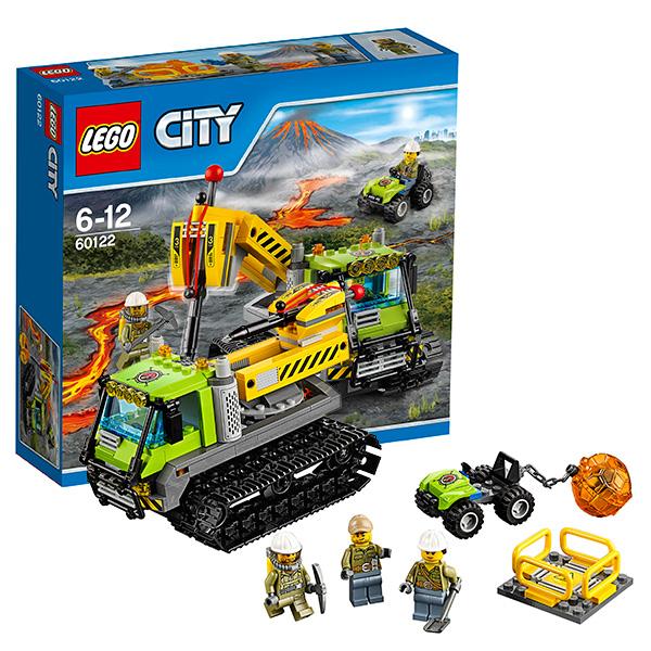 конструктор lego city 60095 корабль исследователей морских глубин Lego City 60122 Лего Город Вездеход исследователей вулканов
