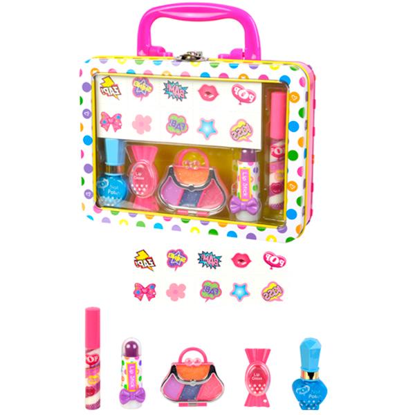 Markwins 3704351 POP Игровой набор детской декоративной косметики для губ и ногтей markwins набор детской косметики pop girls