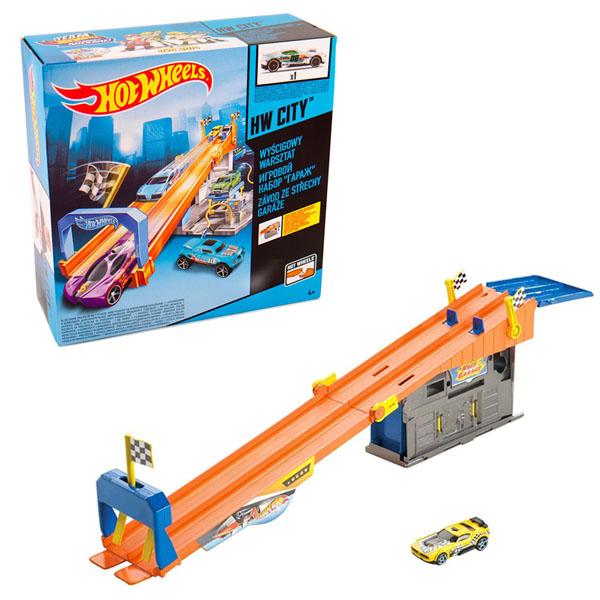 Mattel Hot Wheels BMG70 Хот Вилс Тематическая трасса цена и фото