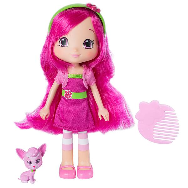 Strawberry Shortcake 12269 Шарлотта Земляничка Кукла Малинка с питомцем 15 см