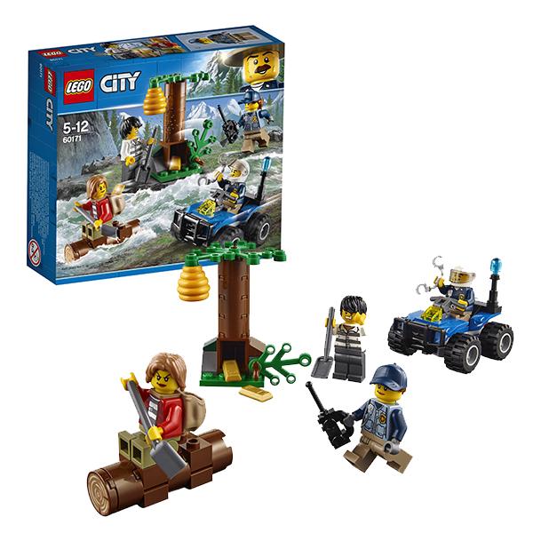Lego City 60171 Конструктор Лего Город Убежище в горах конструкторы lego lego игрушка город набор для начинающих остров тюрьма модель 60127 city