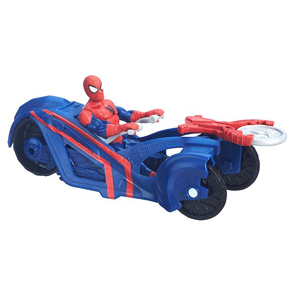 Spider-Man B5760 Фигурки Марвел 15 см на транспортном средстве (в ассортименте)